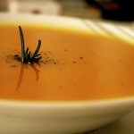 Soup Of The Day: Roasted Pumpkin and Carrot Soup