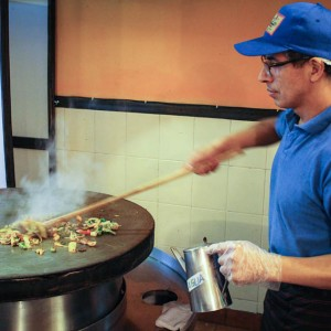 Mongolian BBQ: Choose Your Own Genghis Khan Stir Fry Adventure