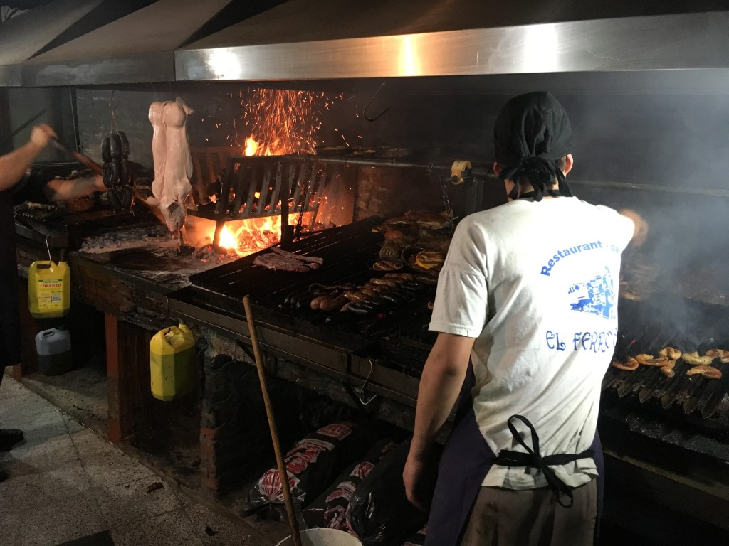 Parrilla at El Ferroviario