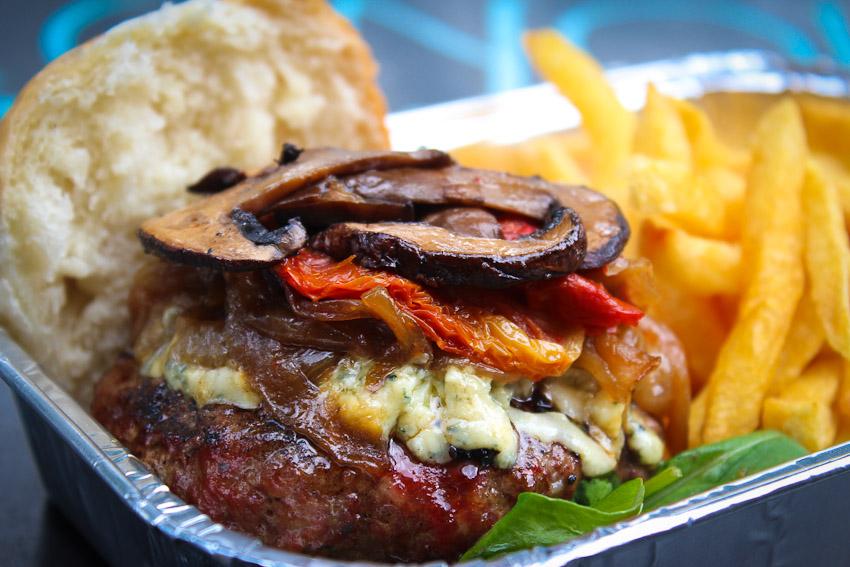 La Bleu from Burger Joint
